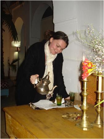 Dar Malak: Mint Tea in the Riad
