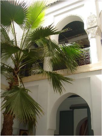 Dar Malak: Part of the courtyard