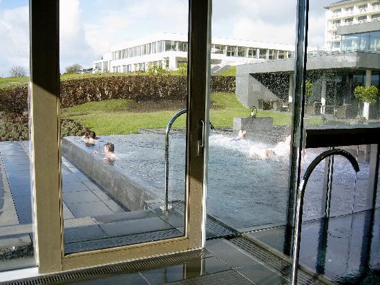 The Europe Hotel & Resort: Hot tub