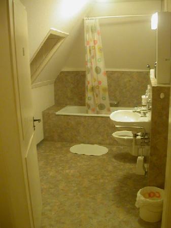 Hua Villa: Private bathroom used by Room 2. Clean.