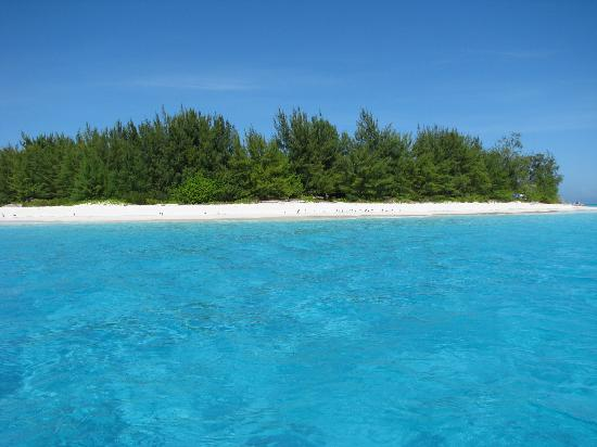 Ras Nungwi Beach Hotel : The atoll and loads the bluest clearest water
