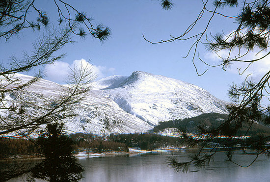 Région des lacs, UK : Helvellyn from Thirlmere