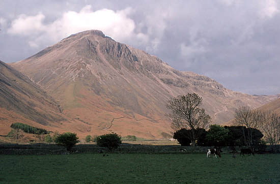 Лейк-Дистрикт (Озёрный край), UK: Great Gable and Wasdale