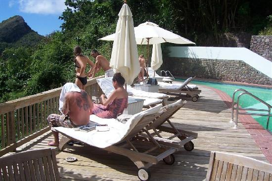 Hampshire Hotel – Queen's Garden Resort : The pool with a view!