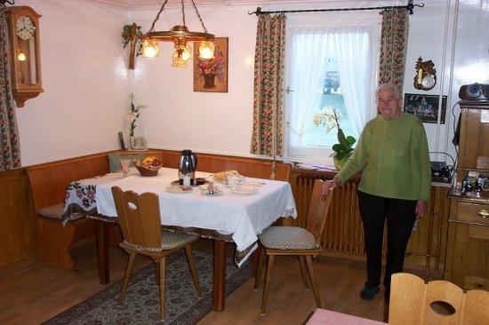 Pension Broghammer : Frau Broghammer - Breakfast room