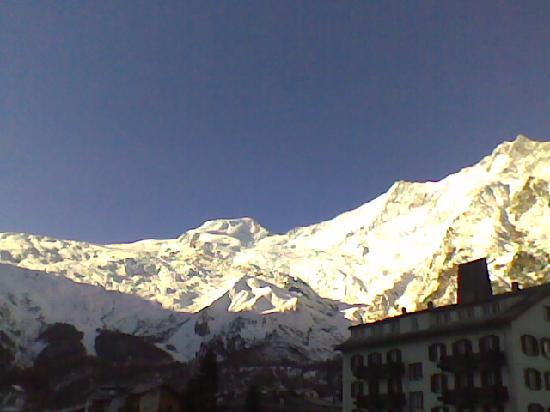 Hotel du Glacier: panorama dalla camera 301