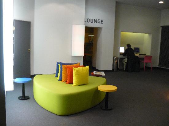 Colour Hotel: hall