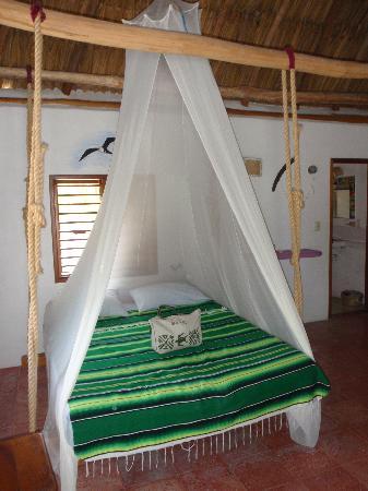 Villas Chimay: Il letto sospeso