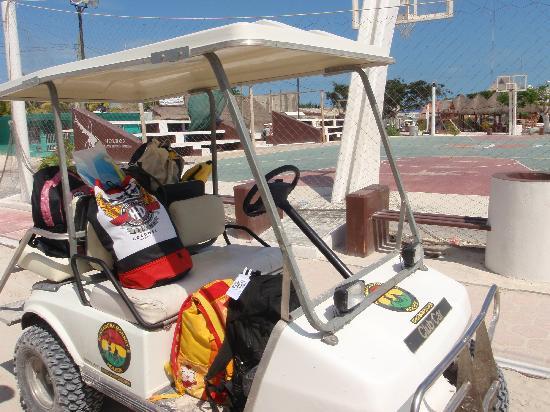 Villas Chimay: La mitica Golf Car