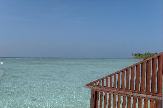 Cinnamon Hakuraa Huraa Maldives: View from our balcony