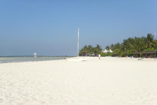 Cinnamon Hakuraa Huraa Maldives: The beach
