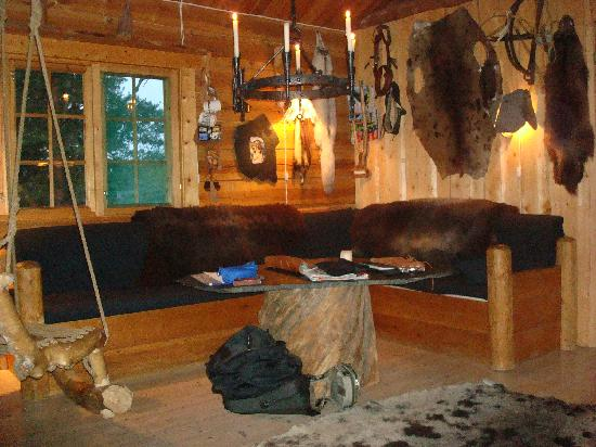 Engholm Husky Design Lodge Karasjok: Salon