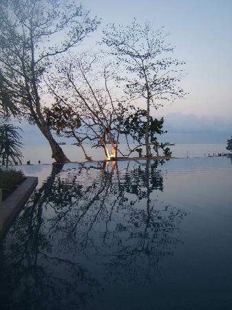 The Chill Resort & Spa, Koh Chang: View from the Ocean Villa Courtyard