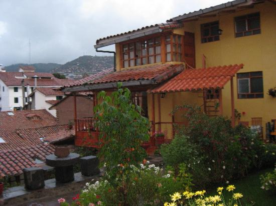 Amaru Hostal: View from the second floor