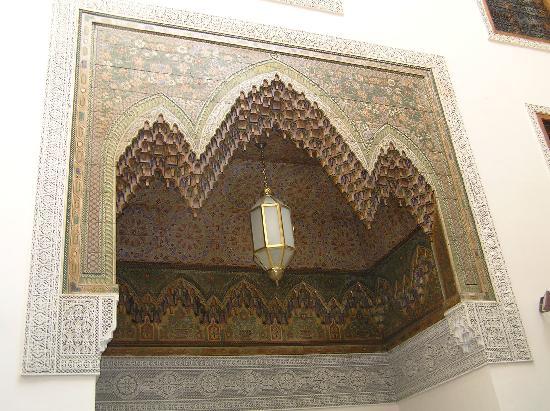 Riad Zamane courtyard
