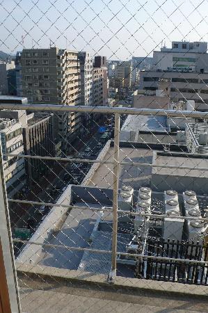Toyoko Inn Kyoto Gojo Karasuma: View from my room