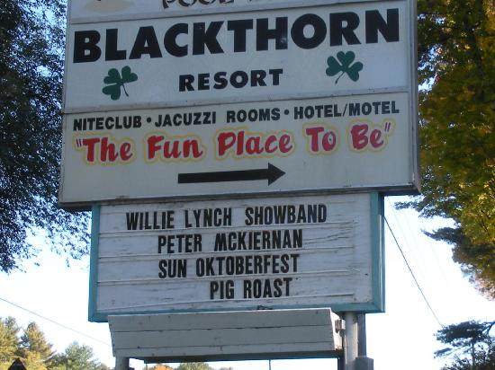 Blackthorne Resort : great entertainment