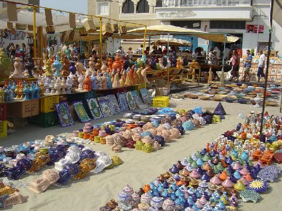 Nabeul, Tunezja: le marché