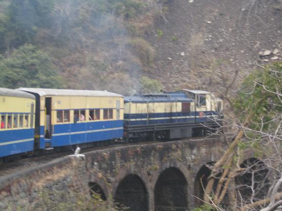 RAIL ROUTE TO SHIMLA
