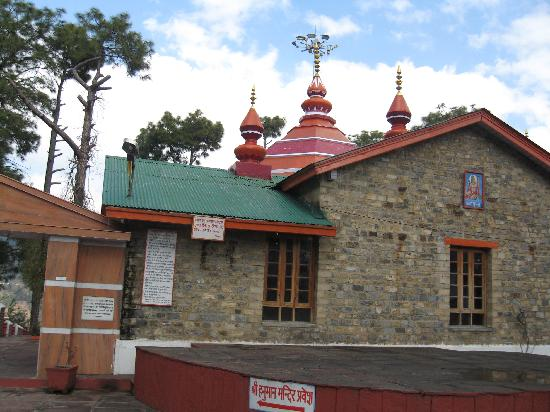 Shimla, India: Hanumaan temple