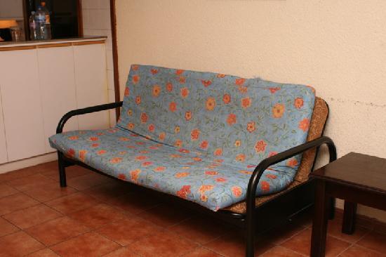 Bahia de los Delfines: Living room sofa