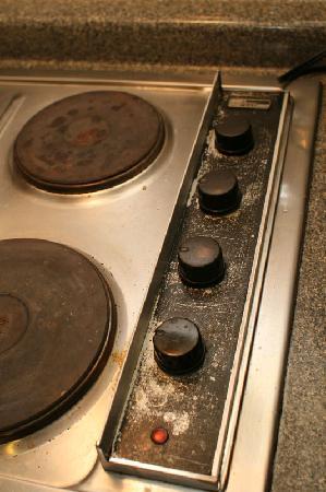 Bahia de los Delfines: Kitchen stove