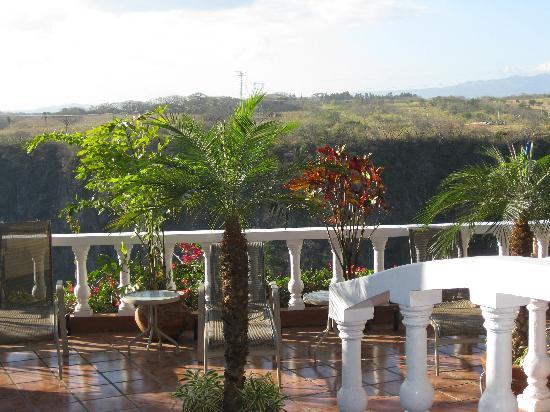 Casa Bella Rita Boutique Bed & Breakfast: From back deck