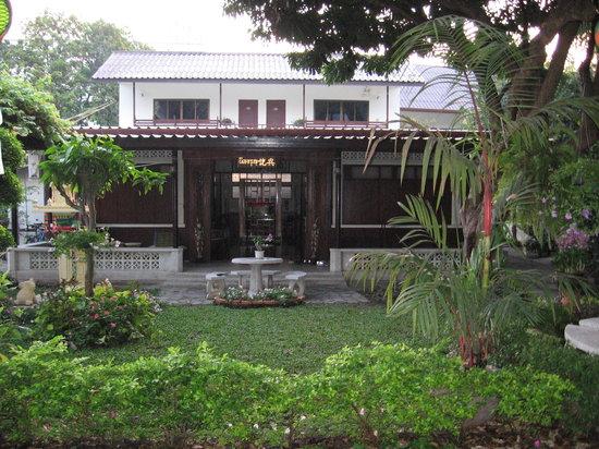 Riverside House: giardino