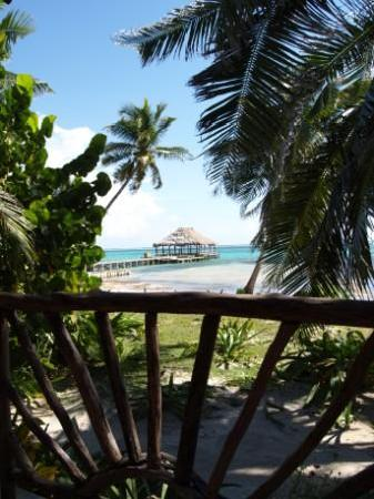 Ak'bol Yoga Retreat & Eco-Resort : Akbol beachfront cabana with palapa