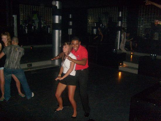 Puerto Plata Village Resort: ah!!! le reggaeton c'est bon!!!!