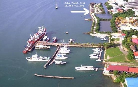 Cebu Yacht Club - Island Village : view of Cebu Yacht Club