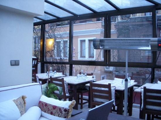 Hotel Sebnem: Rooftop