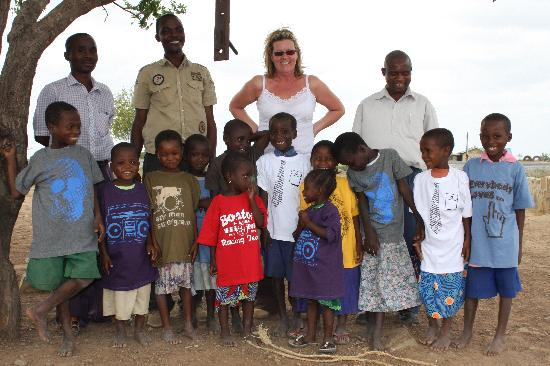 The Baobab - Baobab Beach Resort & Spa: WIth the orphaned children and headteacher
