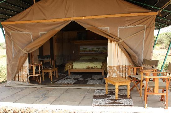 The Baobab - Baobab Beach Resort & Spa: Sentrim Tented Lodge, Amboseli