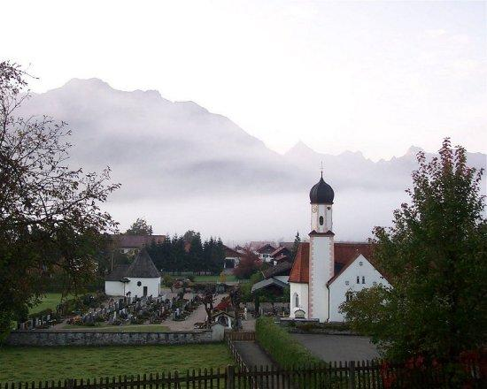 Wallgau church...