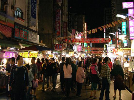 Liouhe night market, Kaohsiung City
