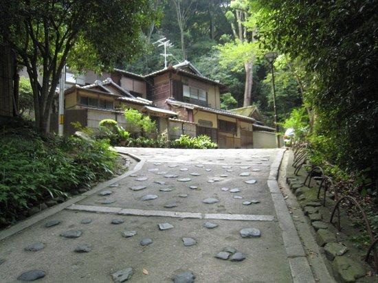 Salon Haraguchi Tenseian : 坂をあがります