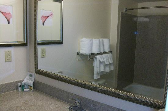 Country Inn & Suites By Carlson, Petersburg: Bathroom 2