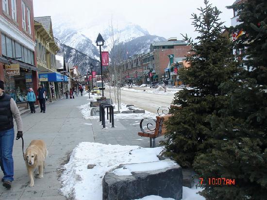 Banf Avenue Downtown Picture Of Banff Rocky Mountain Resort Banff Tripadvisor