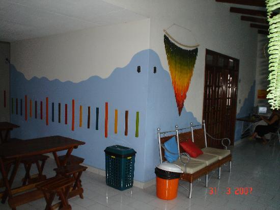 Jodanga Backpackers Hostel: Lobby del Hostel