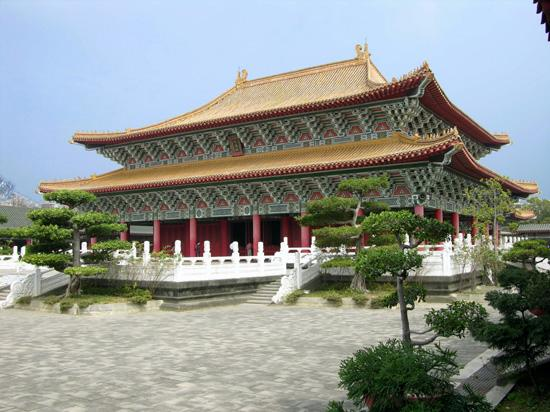 Confucius Temple at Lotus Lake, Zuoying, Kaohsiung