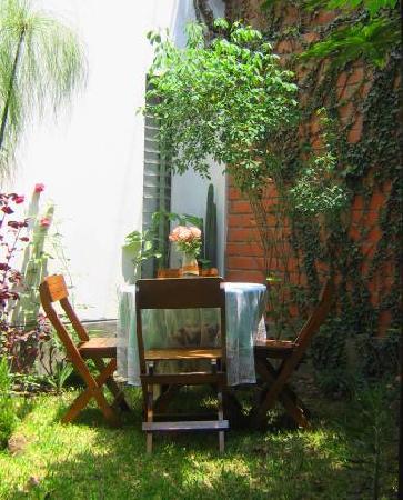 B&B de Kike: Private  inner garden (patio)