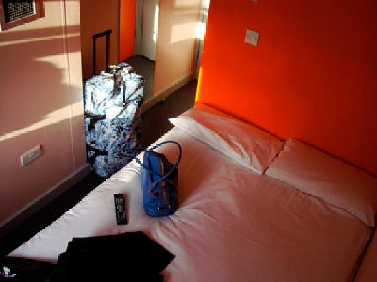 easyHotel Paddington London: Standard room with window (3rd floor)