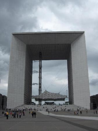 Grand Arche De La Defense Paris Picture Of Paris Ile