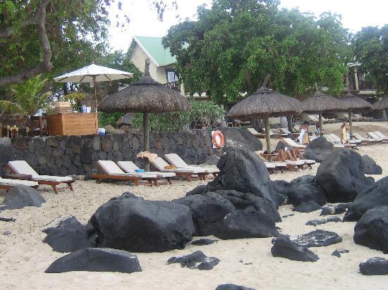 Club Med La Plantation d'Albion: la plage du club med