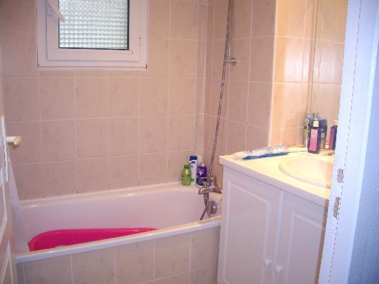 residence odalys amarine la salle de bain