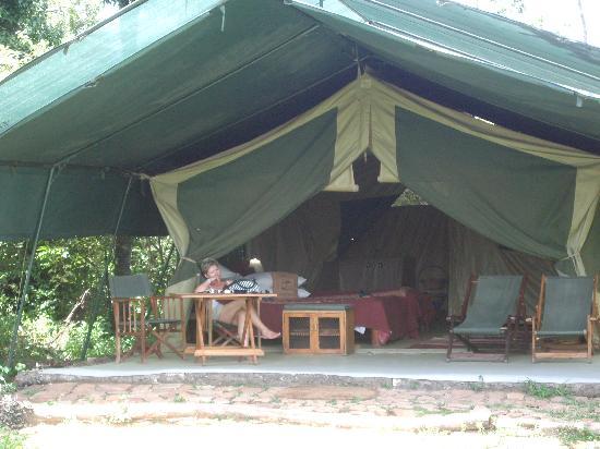 Kicheche Mara Camp: Tents in the bush!