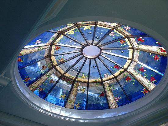 Palace Hotel Meggiorato: il tetto della piscina