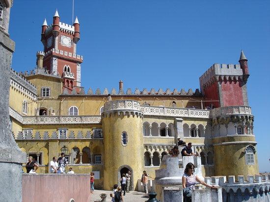 Λισαβόνα, Πορτογαλία: portogallo castello sintra