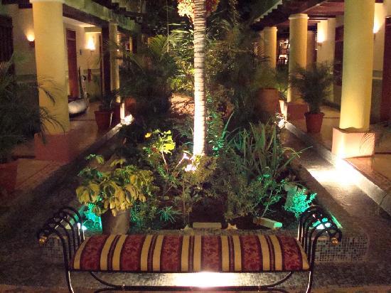Posada Natura Viva: patio interior